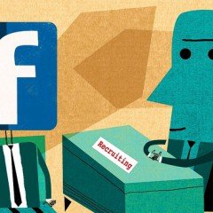 Facebook nu este locul in care sa cauti potentiali candidati