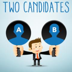 Doi candidati – un singur job. Cum aleg companiile