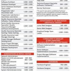 Ghidul salariilor in IT&C 2017