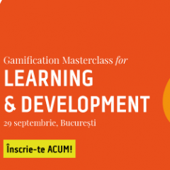 Gamification Masterclass cu Pete Jenkins – 29 Septembrie 2017