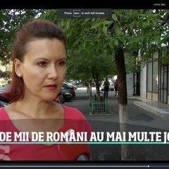 Jumătate de milion de români au două sau mai multe locuri de muncă