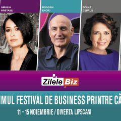 Zilele Biz si Serile Diverta. Primul festival de business printre cărți