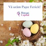 Echipa ABC Human Capital vă urează Paște Fericit!