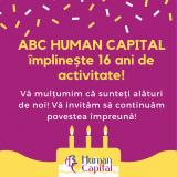 ABC HUMAN CAPITAL implineste 16 ani!