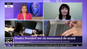 Corina Diaconu interventie Digi24